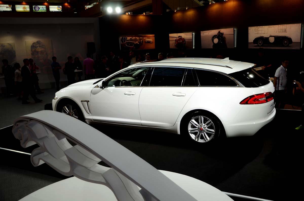 英式跑旅現身 Jaguar XF Sportbrake