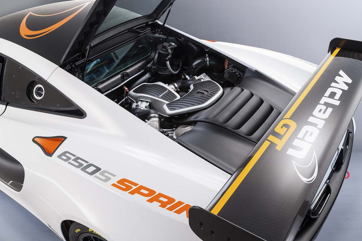 終極殺彎王 McLaren 650S Sprint