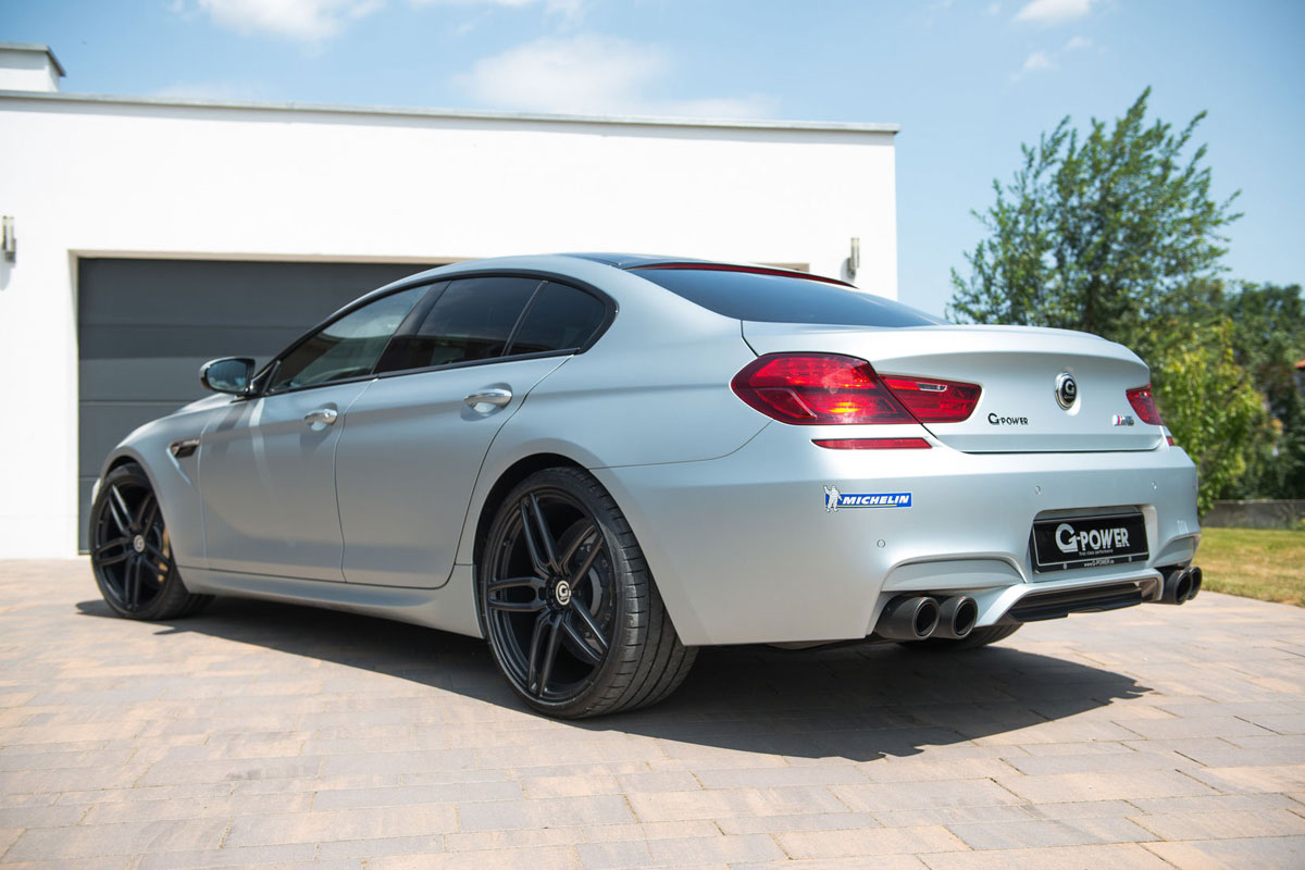 牛馬靠邊站 G-Power BMW M6 Gran Coupe