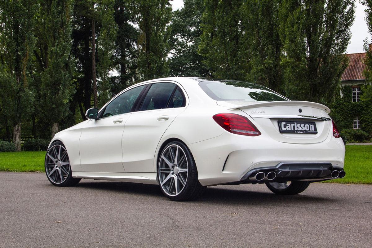 絕對紳士Carlsson M.Benz C-Class W205