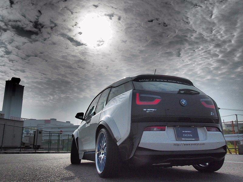 BMW i3東洋巧手改裝版