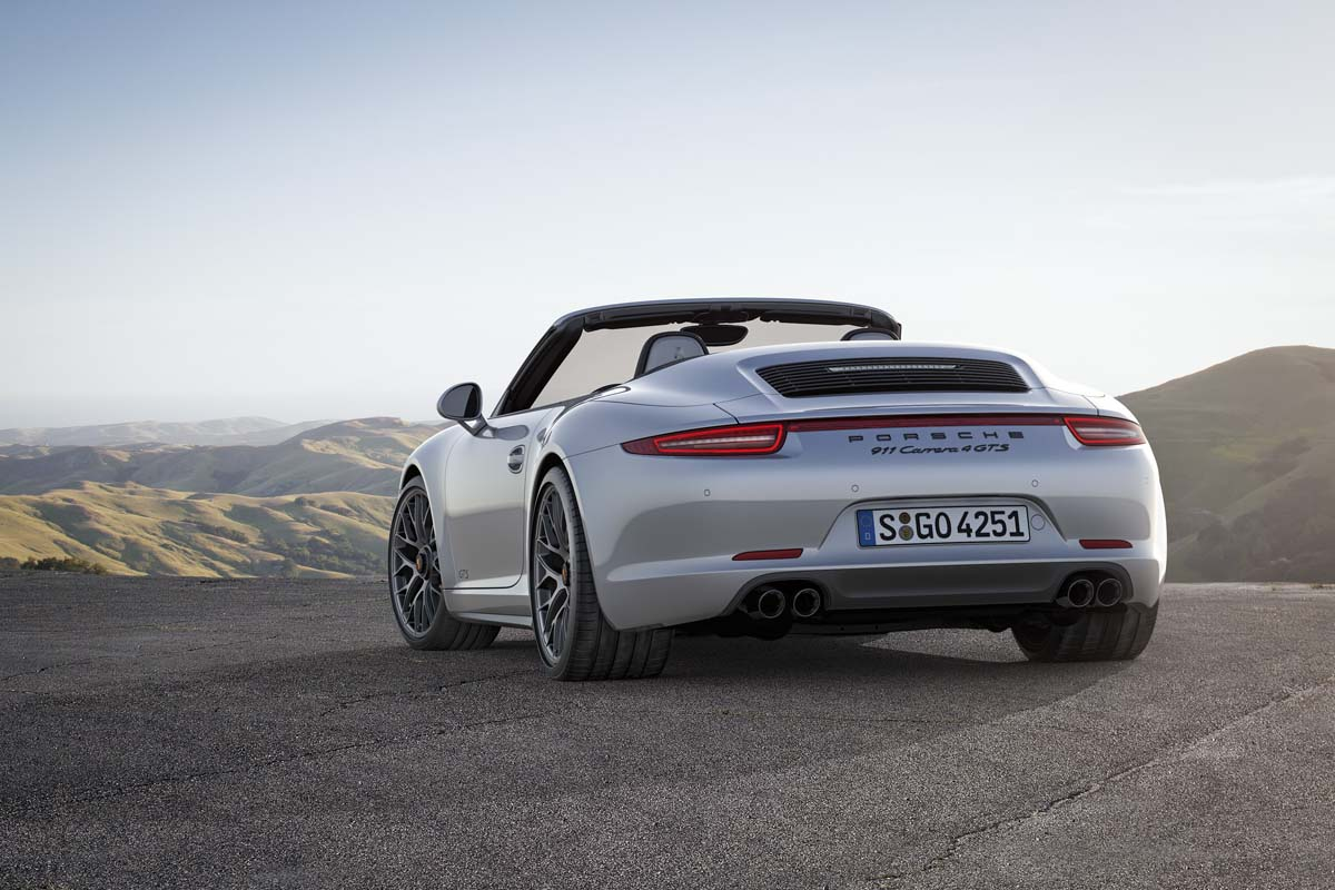 中階戰將 Porsche 911 Carrera GTS