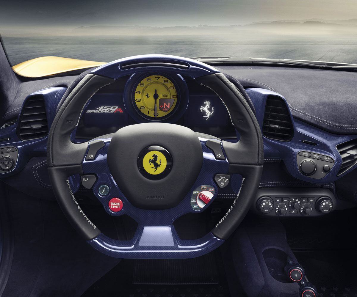 黃馬來了 Ferrari 458 Speciale A 巴黎國際車展首發