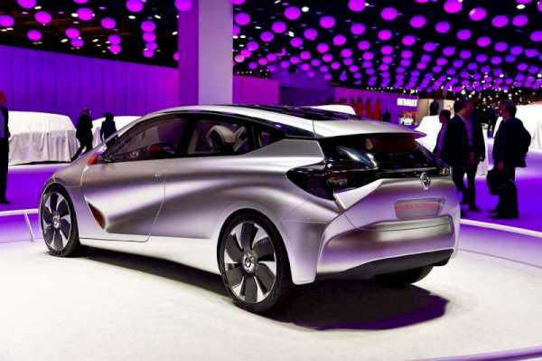 輕如鴻毛 Renault EOLAB Concept