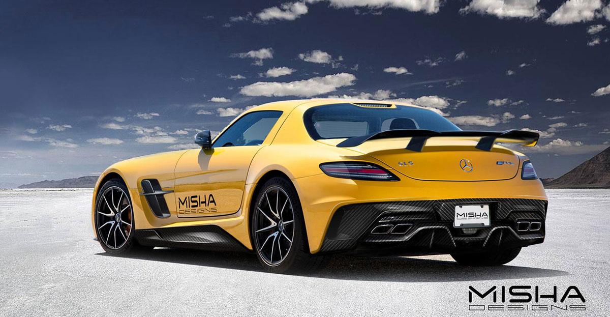 低趴犀利鷗 Misha Designs M.Benz SLS AMG