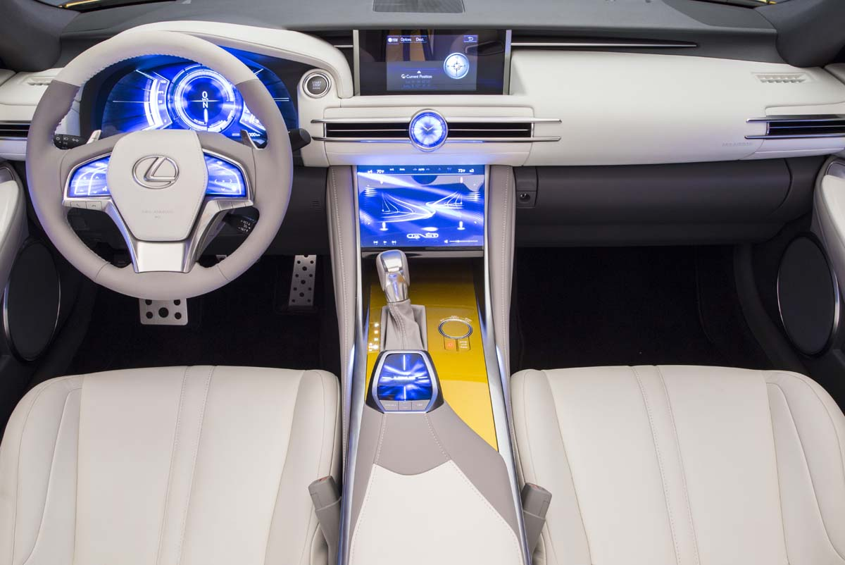 預告未來風格 Lexus LF-C2